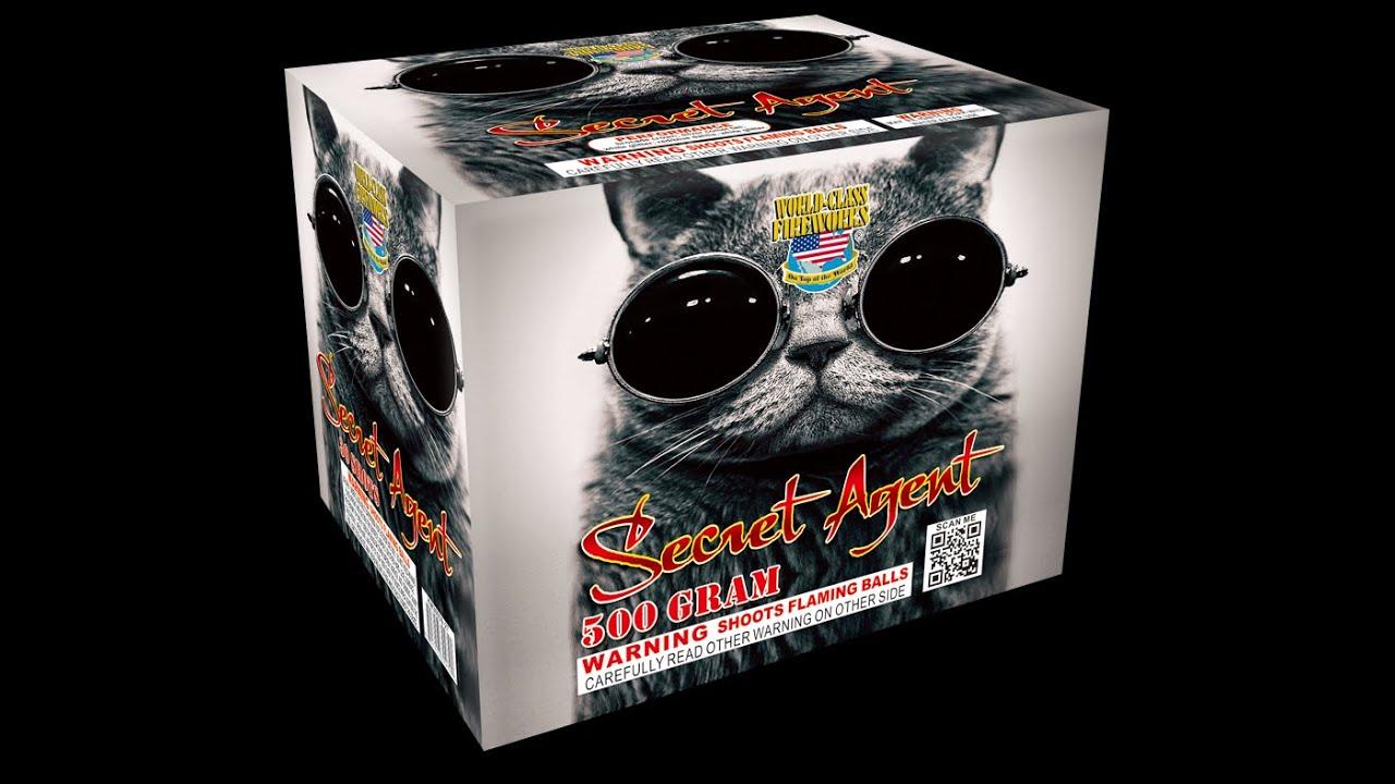 World Class Fireworks - Secret Agent 500G 1.4G Cake - YouTube