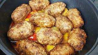Очень Вкусное Блюдо из Котлет и картофеля Он Покорил миллион сердец На обед или ужин