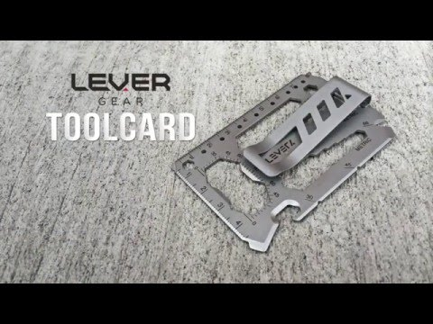 Lever Gear Toolcard Overview