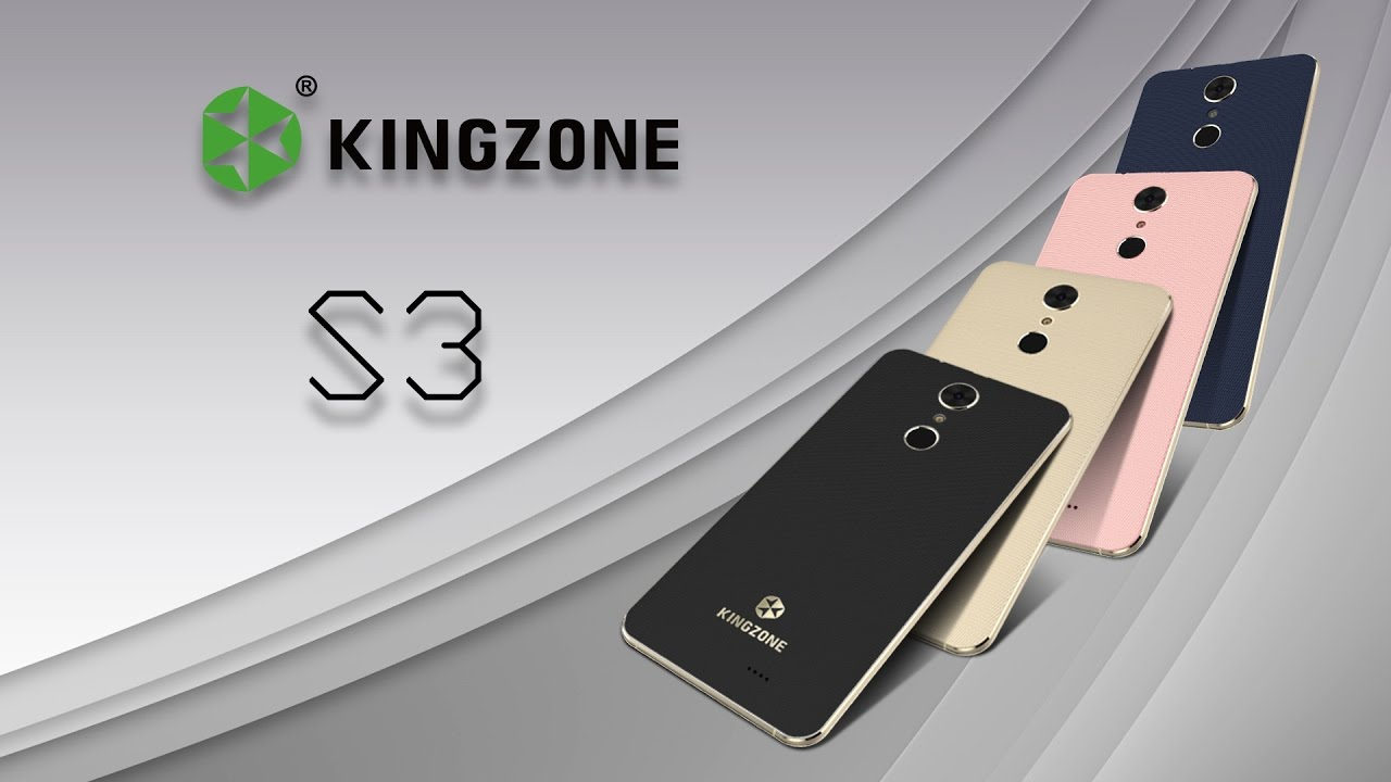 KINGZONE S3-review video-Touch fingerprint identification ...