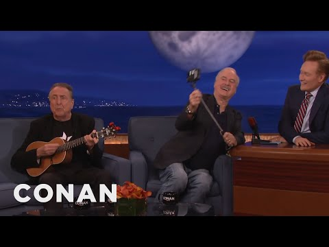 """John Cleese and Eric Idle's New Song, """"F*** Selfies""""  - CONAN on TBS"""