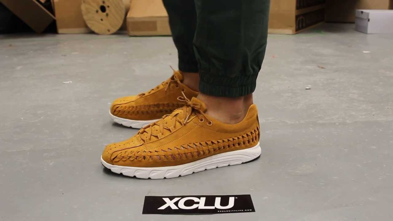 the latest ff28d 7266a Nike Mayfly Woven QS - Bronze - On-feet Video at Exclucity - YouTube