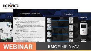 Webinar: KMC SimplyVAV | 12.7.18