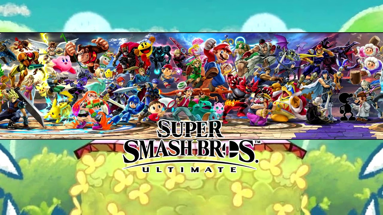 Super Smash Bros Ultimate Everyone Is Here Wallpaper Engine