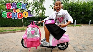 TIANA S NEW BACK TO SCHOOL SUPPLIES