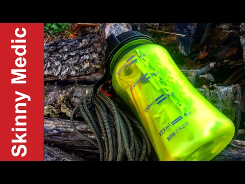 The Ultimate Survival Water Bottle