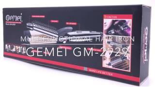 Multifunctional Hair Iron - Catok Rambut - GEMEI GM-2929