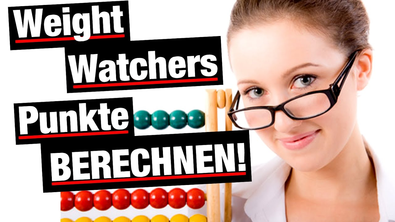 die weight watchers punkte berechnen youtube. Black Bedroom Furniture Sets. Home Design Ideas