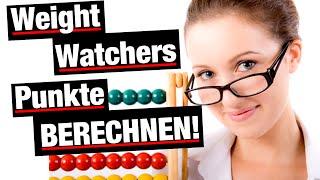 Die Weight Watchers Punkte berechnen