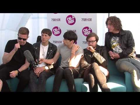 The Pigeon Detectives Interview at Osfest 2013