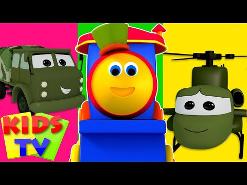 Bob The Train Visit To The Army Camp  Kids TV cartoon  kids TV  for children  kids TV show