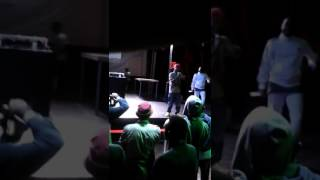 Kadabra Mc desafia Plutónio para um berro de improviso  Video