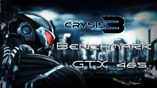 Crysis 3 Benchmark GTX465 1GB Msi