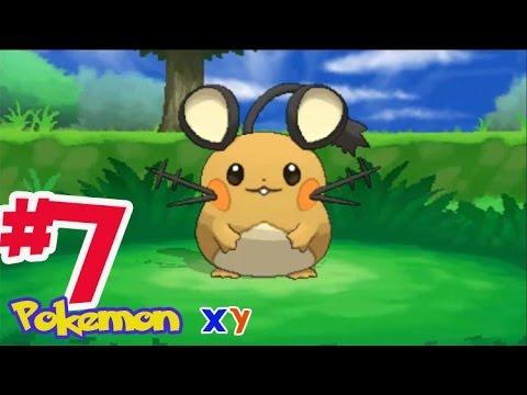 Let's Play Pokemon XY #7 จับเดเนเนะโปเกม่อนหายาก! ถ้ำกระจกแห่งห้วงมิติ!!