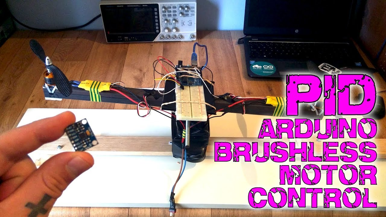 Pid Brushless Motor Control Tutorial Youtube Wiring Diagram For Two Motors And One Esc Recommended
