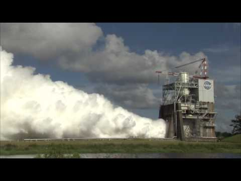 RS 25 Hot Fire test