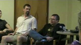 Jeff VanderMeer at Odyssey Workshop - June 2006