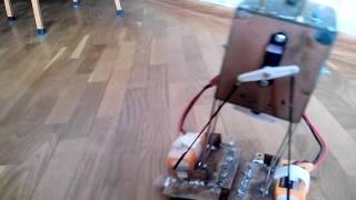 Первый ходячий робот