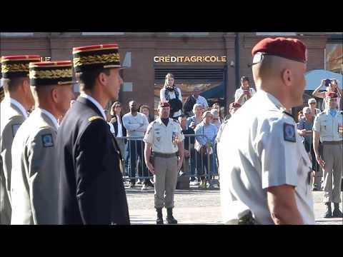 11ème BRIGADE PARACHUTISTE CEREMONIES DE LA SAINT-MICHEL à TOULOUSE 29 septembre 2017
