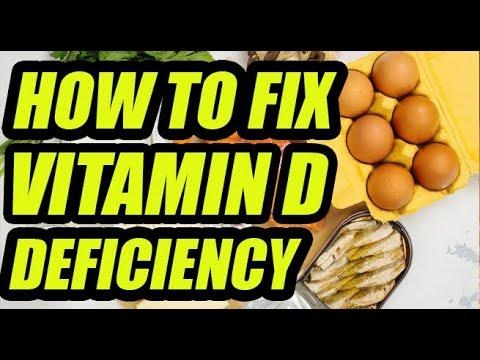 Vitamin D food List / Vitamin D Capsules / How to Increase Vitamin D levels