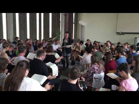 372 Rockport - Third German Sacred Harp Convention, 2016