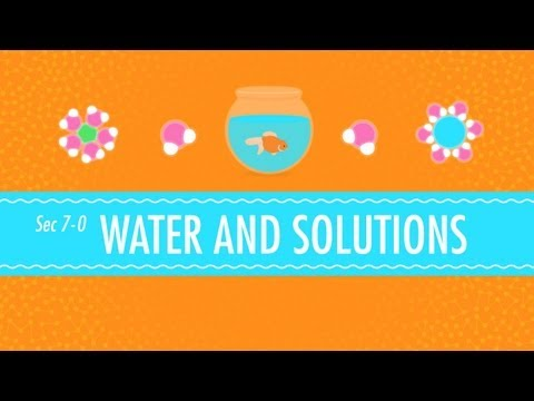 Water & Solutions - for Dirty Laundry: Crash Course Chemistry #7