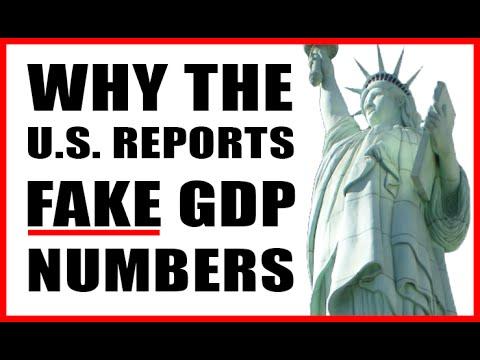 U.S. Economy DOWN, Stocks DOWN, GDP UP?