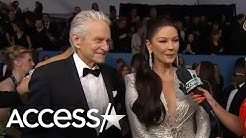 Catherine Zeta-Jones And Michael Douglas Spill On Her Fierce 2020 SAG Awards Fashion