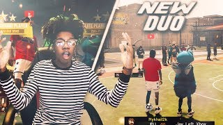 THE OVERPOWERED DUO! JayLeftXbox and MyKhail2K NEVER lose on NBA 2K19! Best Build 2k19 !