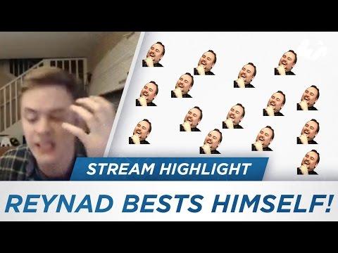 REYNAD BESTS HIMSELF!
