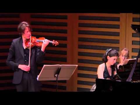 Janacek Violin Sonata Movts 3&4 Thomas Gould and Ivana Gavric
