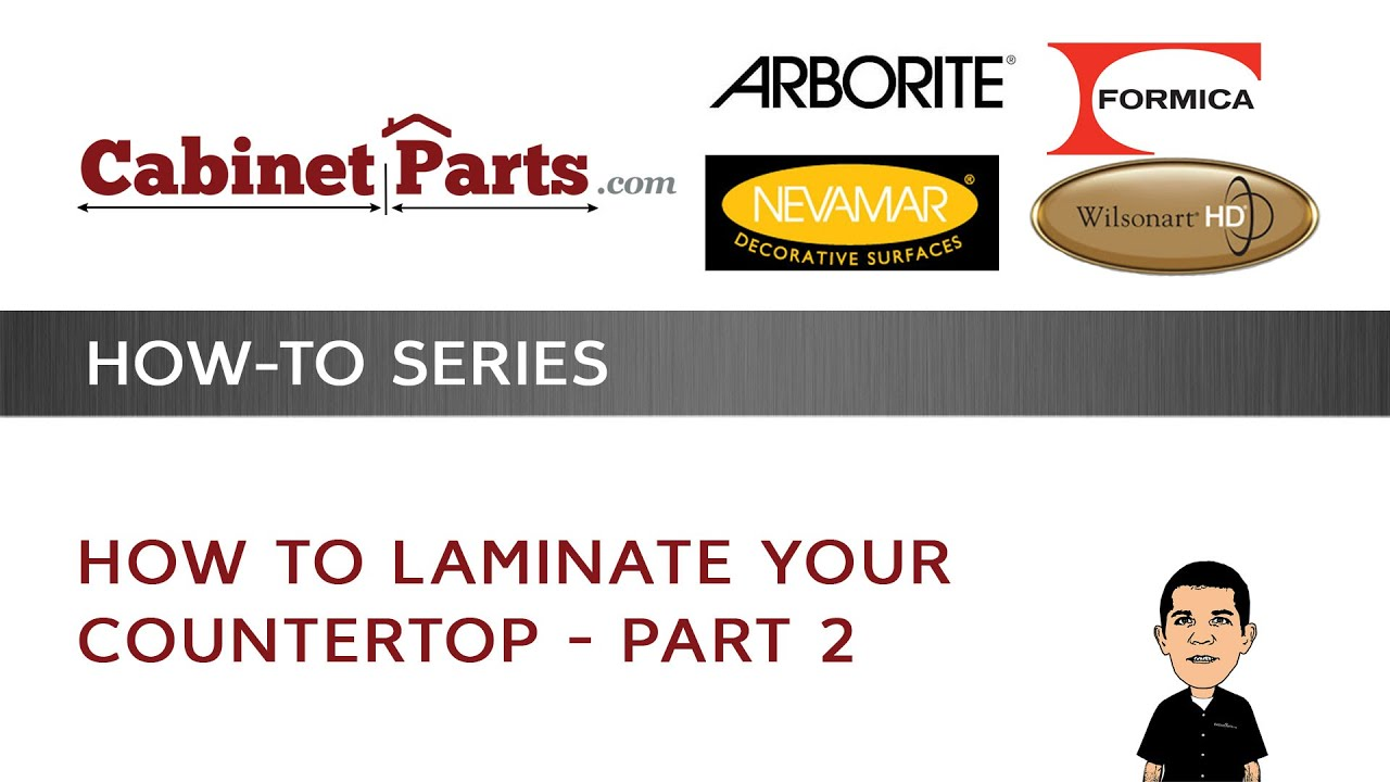 Superieur How To Laminate Your Counter Top   Part 2   CABINETPARTS.COM   YouTube