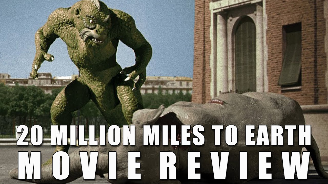 Download 20 Million Miles to Earth   1957   Movie Review   Indicator #42   Blu Ray   Ray Harryhausen