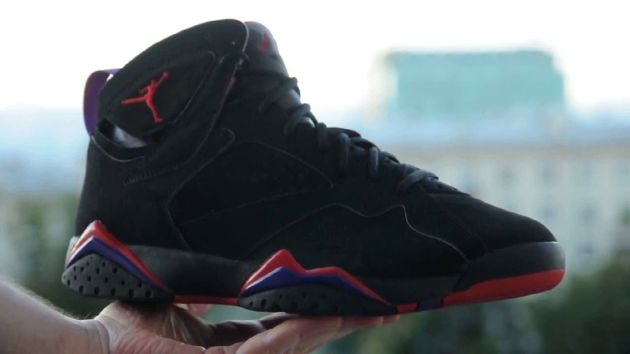 1e311a3df337 2002 Air Jordan 7 (VII) Retro   Raptor    (304775 006) - YouTube