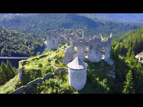 Ehrenberg Castle - Austria - 4K Drone 2017