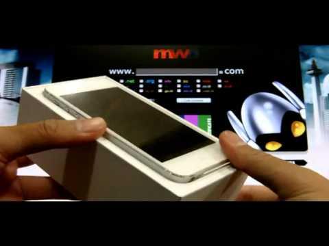iPhone 5 Membuka Dari Kotak Baru