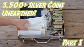 Epic Haul of Actual Buried Treasure! Thousands of Silver Coins! (Part 1)