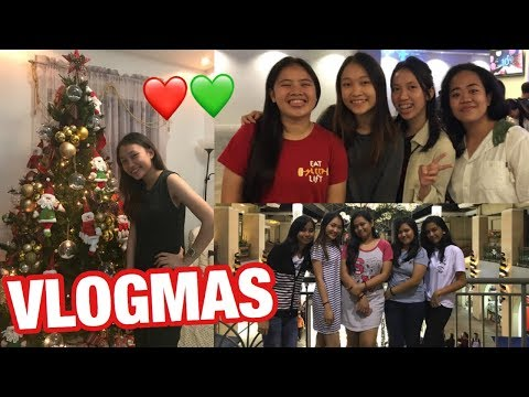 VLOGMAS: Karaoke with Friends + Christmas Eve 2017! | This Is France