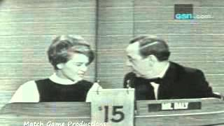 What's My Line (Betty White and Allen Ludden Appear on Panel) (1966)