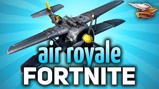 FORTNITE - Воздушный бой - Сам в шоке