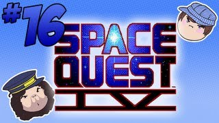 Space Quest IV: Hertz So Good - PART 16 - Steam Train