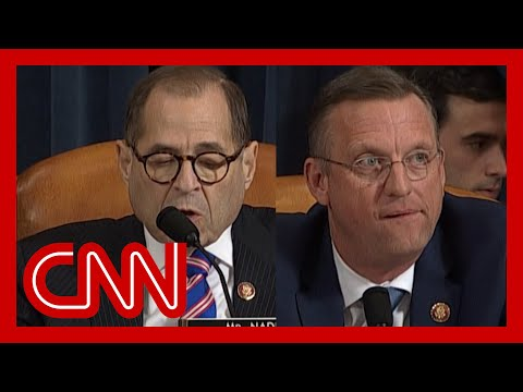 Watch Bitter Ending To Impeachment Hearing