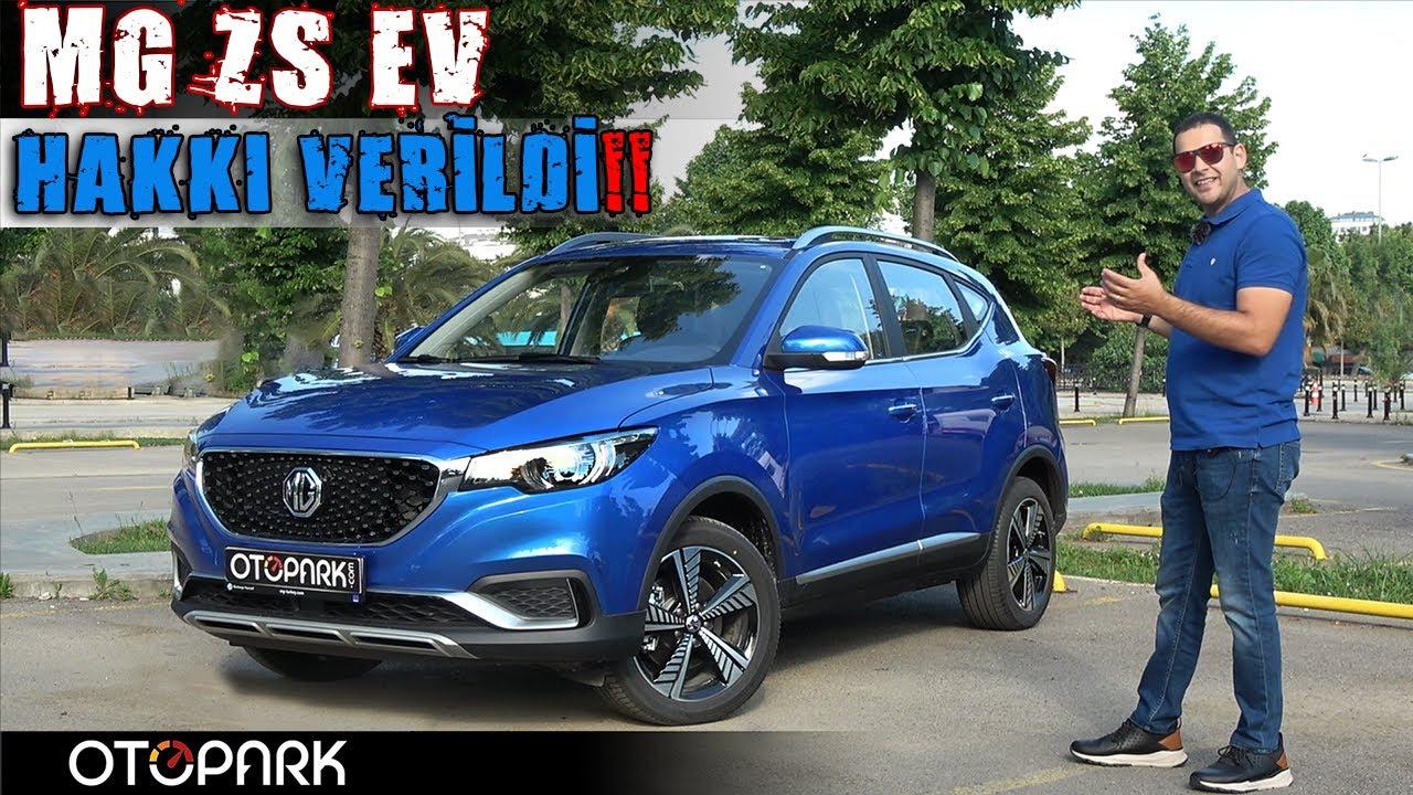 MG ZS EV Elektrikli B SUV | Test Sürüşü | OTOPARK.com