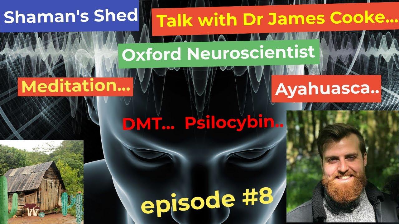 #8 Talk with Neuroscientist Dr James Cooke   psychedelics, meditation and more @Dr. James Cooke