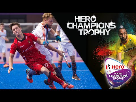 Belgium vs Netherlands - Men's Hockey Champions Trophy 2014 India 5th/8th Place [13/12/2014]