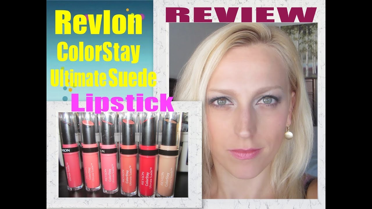 First Impression: New Revlon Colorstay Ultimate Suede Lipstick ...