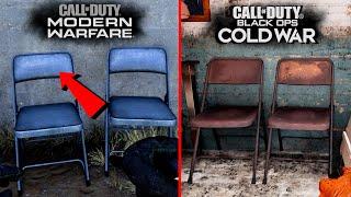 Black Ops Cold War vs Modern Warfare - Attention to Detail \u0026 Graphics Comparison