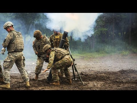 US Marines Firing the Extremely Powerful - Deadly Silenced Weapons