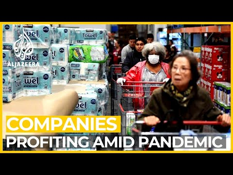 Which businesses are benefitting from COVID-19 pandemic?