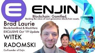 Enjin Update | Witek Radomski | BlockchainBrad | Blockchain Gaming | Blockchain Assets